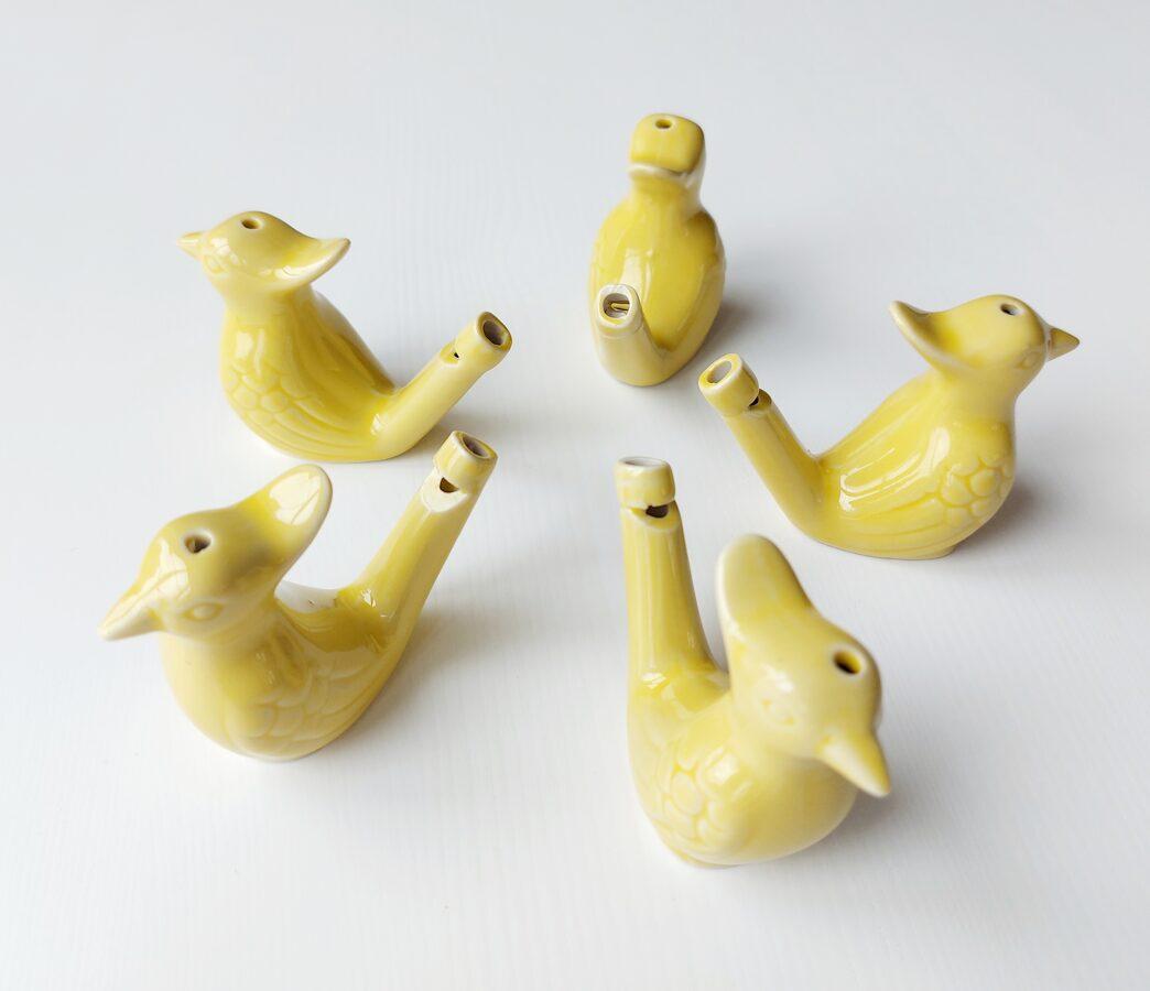 Svilpīte-Putniņš Dzeltens