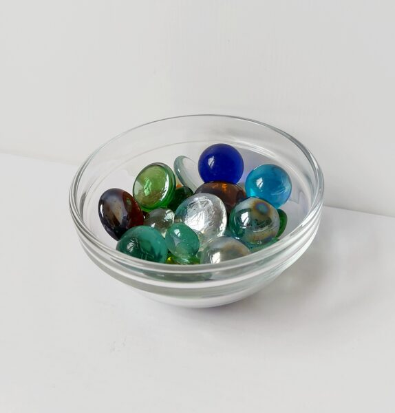 Stikla Bļodiņa 12 cm