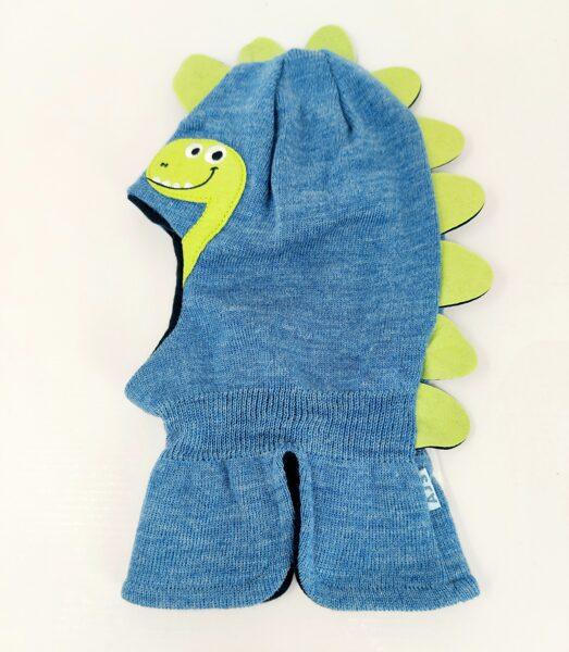 Bērnu ķivercepure Dino Blue