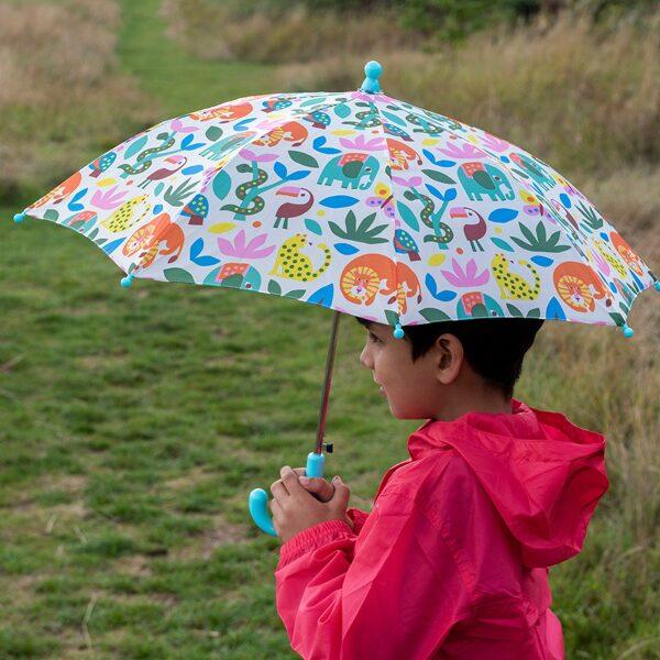 Bērnu lietussargs Wild Wonders