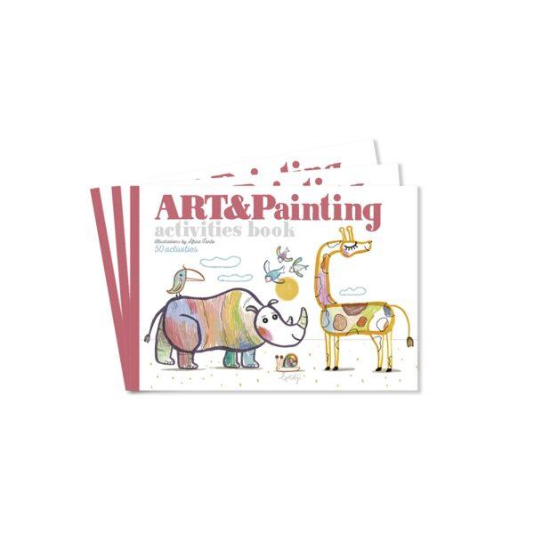 Grāmata radošai spēlei Art&Painting
