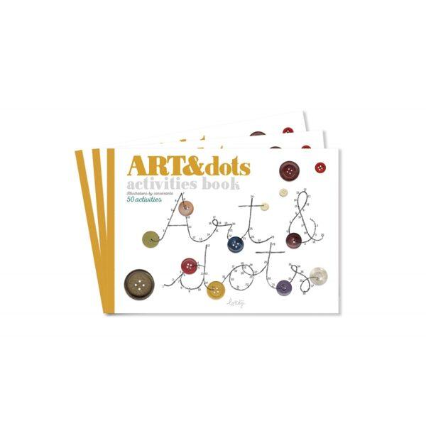 Grāmata radošai spēlei Art&Dots