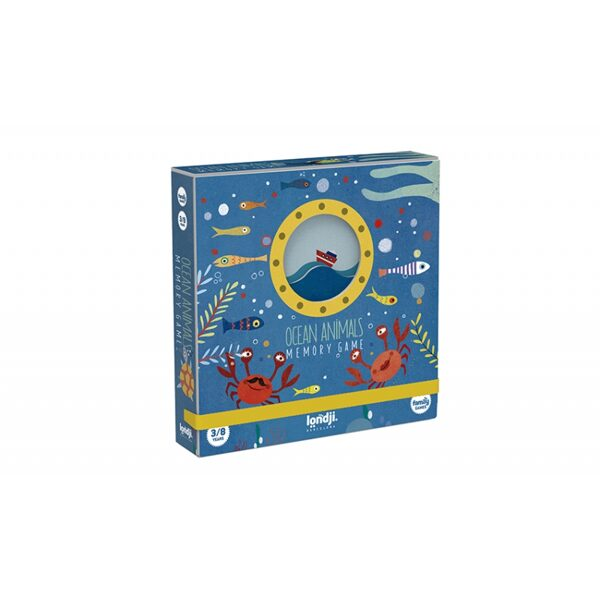 Atmiņas spēle Ocean Animals