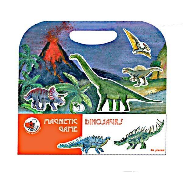 Magnētiskā spēle Dinozauri