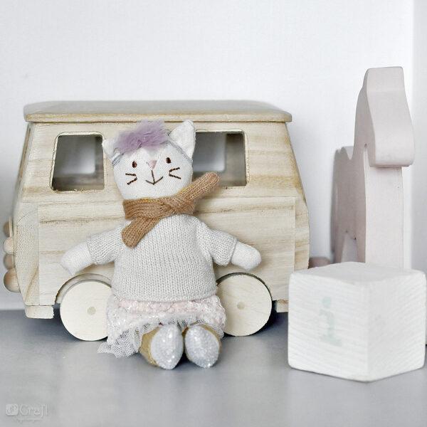 Radošā rotaļlieta Crafty Friends - kaķenīte Mimi